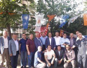 AK PARTİ KADİRLİ TEŞKILATINDAN YILDIRIM'A TAM DESTEK..