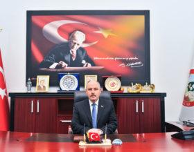 Vali Ömer Faruk Coşkun'un Jandarma Teşkilatının 180. Kuruluş Yıldönümü Mesajı