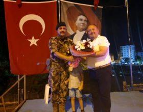 Kadirli de 15 Temmuz Demokrasi ve Milli Birlik yürüyüşü