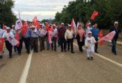 Sumbas'ta 15 Temmuz Bayrak Yürüyüşü ve Sergi açılışı
