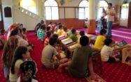 Kur'an kurslarındaki çocuklara sağlıklı yaşam eğitimi