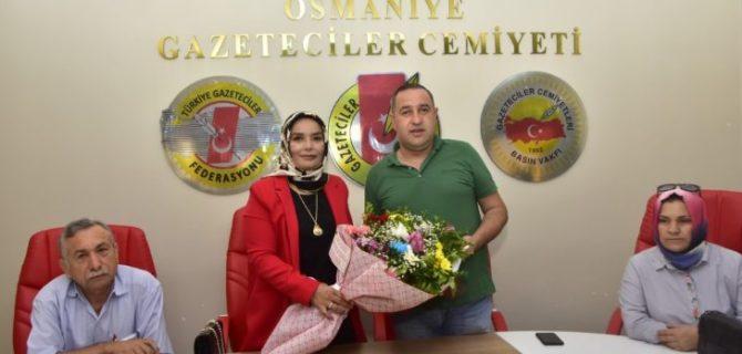 Anadolu Şehit Aileleri Derneği'nden OGC ziyareti