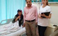 Timus bezi tümörü ameliyatı, kapalı yöntemle yapıldı