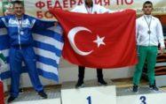 Osmaniyeli güreşçi Balkan Şampiyonu oldu