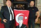 Kadirli'de esnafa Türk bayrağı dağıtıldı…