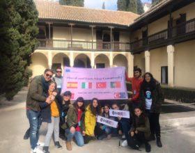 """Kadirli Osman Gazi Anadolu Lisesi bu kez de """"Dünya Barışı """" için İspanya'da!"""