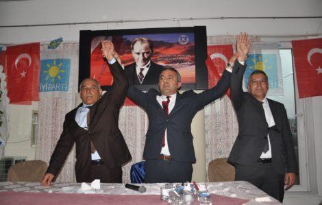 İYİ Parti Kadirli'de Mehmet Soğancı başkan seçildi