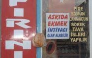 ANDIRIN'DA ESNAF  ASKIDA EKMEK PROJESİ BAŞLATTI