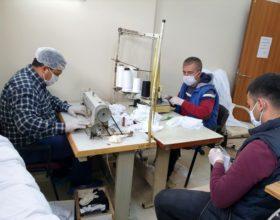 Kadirli Engelsiz Yaşam Merkezi maske üretimine başladı