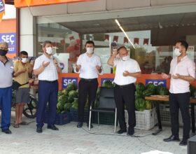 """""""Seç Market"""" şubesi dualarla açıldı"""