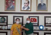 BAŞKAN TARHAN'DAN TÜRKİYE BİRİNCİSİ MUHAMMET İLBAY'A ÖDÜL