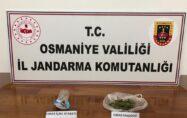Jandarmanın yol uygulamasında uyuşturucu ele geçirildi