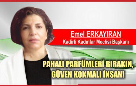 PAHALI PARFÜMLERİ BIRAKIN,GÜVEN KOKMALI İNSAN !!