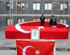 KAHRAMANMARAŞ – Şehit polis memuru için tören (2)