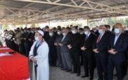 Eski Devlet Bakanı Ahmet Şanal toprağa verildi