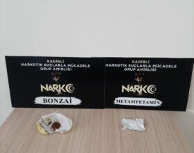 Kadirli'de uyuşturucu operasyonunda 9 şüpheli yakalandı