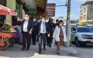 KAYMAKAM AHMET ARIK BAŞKANLIĞINDA  COVİD-19 DENETİMLERİ DEVAM EDİYOR