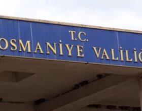 Osmaniye'de gösteri yürüyüşü ve açık hava toplantıları 28 Nisan'a kadar yasaklandı
