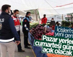 İLÇEMİZDE CUMARTESİ GÜNÜ 3 MAHALLEDE   SEMT PAZARI KURULACAK
