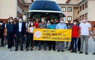 """Turizm Lisesi öğrencilerimiz""""STAJ"""" için Antalya'ya uğurlandı"""