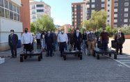 """""""Çevreci Okullar Yarışıyor"""" ödül töreni yapıldı"""