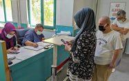 Kadirli Devlet Hastanesi'nde Aşı yoğunluğu