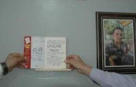 Şehidin adına açılan kütüphane ilk kitap kızından