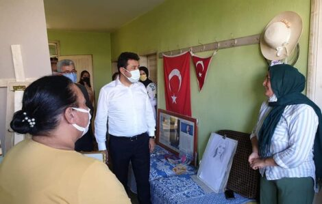 "KAYMAKAM ARIK'TAN ""EL EMEĞİ GÖZ NURU ÇALIŞMALARA"" TAM NOT.."