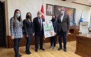 Yeşilaydan Karamanoğlu Mehmetbey Üniversitesi (KMÜ) Rektörü Prof. Dr. Namık Ak'a Ziyaret