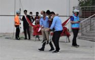 osmaniye'de deprem tatbikatı