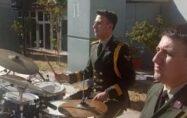 Osmaniye'de 6. Kolordu Bölge Bando takımından halk konseri